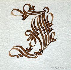 Calligraphie {latine} etc: Une lettre par semaine - Deuxième alphabet... la suite...
