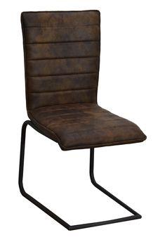 Chaise en tissu microfibres havane et pieds métal noir 46x91x62cm - Infos  et Dimensions Largeur   46 cm - Profondeur   62 cm - Hauteur   91 cm -  Composition ... 62a3c0fc250
