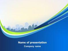 http://www.pptstar.com/powerpoint/template/blue-cityscape/ Blue Cityscape Presentation Template