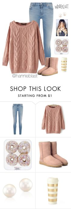 """""""C A F É  T A G"""" by hannieblast ❤ liked on Polyvore featuring Givenchy, UGG, Anne Sisteron, Kate Spade and country"""