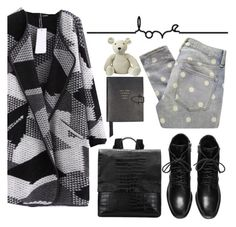 """""""L.O.V.E."""" by punnky ❤ liked on Polyvore featuring Marc by Marc Jacobs, Smythson and Anne-Claire Petit"""