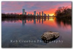Austin sunrise at Ladybird Lake by Rob Greebon on 500px