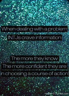 Information. INTJ.