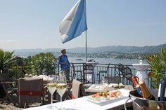 Sky Bar im Eden au Lac, Zürich.