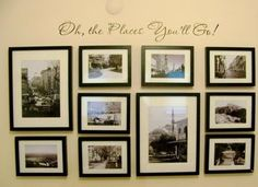 The Pin Junkie: Gallery Wall