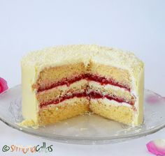 Vanilla Cake, Deserts, Sweet, Recipes, Food, Desserts, Meal, Dessert, Eten