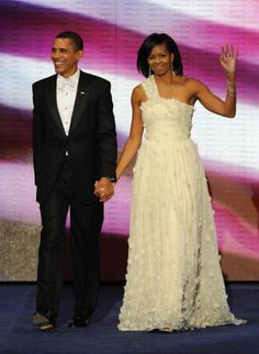 2009 Michelle Obama's inaugural gown