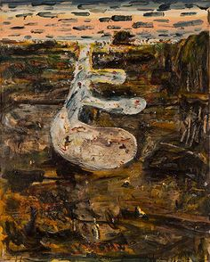 John Walker, Tidal Pool Oil on Canvas, x John Walker, Thing 1, British American, In Boston, Painters, Pools, Graham, Oil On Canvas, Abstract Art