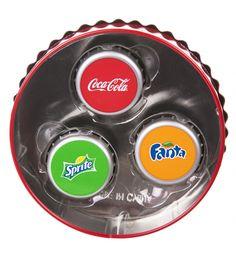 Lip Smacker Coca-Cola Caps Lip Balm Trio Tin