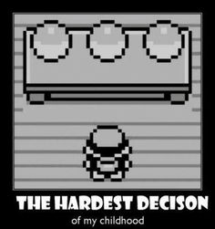 ...still a hard decision...