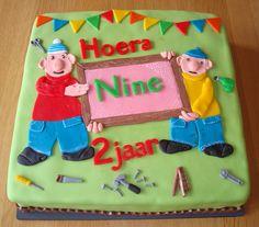 Buurman en Buurman taart voor Nine
