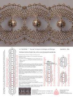 Doily Art, Bobbin Lacemaking, Bobbin Lace Patterns, Lace Bracelet, Bracelets, Wire Crochet, Lace Jewelry, Beaded Ornaments, Lace Embroidery