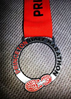 Princeton Half Marathon BLING - (Fifty States Half Marathon Club member BLING…