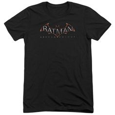 """Checkout our #LicensedGear products FREE SHIPPING + 10% OFF Coupon Code """"Official"""" Batman Arkham Knight /  Logo-short Sleeve Adult Tri-blend - Batman Arkham Knight /  Logo-short Sleeve Adult Tri-blend - Price: $44.99. Buy now at https://officiallylicensedgear.com/batman-arkham-knight-logo-short-sleeve-adult-tri-blend"""