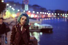 short blue hair | Tumblr