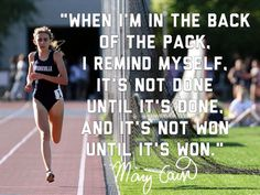 Matters When I'm in the back of the pack I remind myself.Running Matters When I'm in the back of the pack I remind myself. Track Quotes, Running Quotes, Sport Quotes, Running Motivation, Health Motivation, Running Humor, Nike Quotes, Marathon Motivation, Running Track
