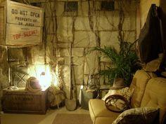 Indiana Jones Room I am gunna do this... Someday.