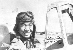 Saburo Sakai a ace with over 60 areal victories, a veteran of China war. A pilot of very hard Navy scool.