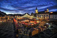 Christmas market Sibiu