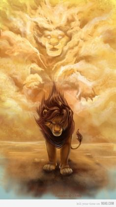 """Remember Who You Are"" - Simba and Mufasa - The Lion King"