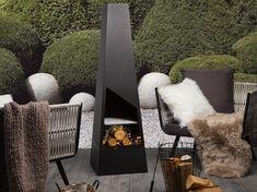 Haard zwart staal YATE_716518 Lounge Furniture, Garden Furniture, Outdoor Furniture Sets, Bbq Grates, Color Cobrizo, Conversation Area, Outdoor Chairs, Outdoor Decor, Bistro Set