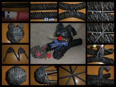 Návod na ležící kočku Straw Weaving, Paper Weaving, Corn Dolly, Newspaper Art, Recycled Magazines, Willow Weaving, Quilling, Wicker, Origami