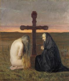 Grief, Anna Ancher, 1902 Oil 86.5x73.8cm