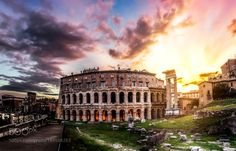Theatre of Marcellus by ValerioBenincasa