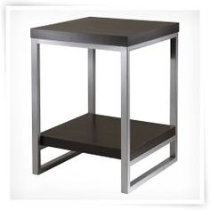 Winsome Jared End Table  Small table for entryway chairs