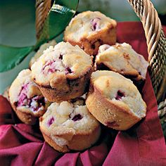 Lemon-Raspberry Muffins | Lemon-Raspberry Muffins are great for breakfast or as an afternoon snack with coffee or tea | SouthernLiving.com