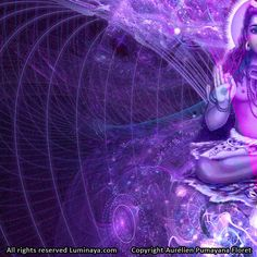 Shiva d'oeuvre originale Art spirituel Psy Art Art par Pumayana