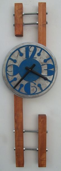 dave greway designs - making clocks out of found and often discarded material