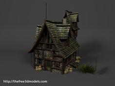 http://tf3dm.com/3d-model/medieval-house-4919.html