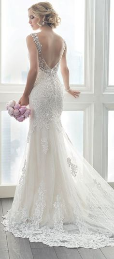 Lace back Wedding Dress by Christina Wu Brides | @HouseofWuBrands #ChristinaWuBrides #ChristinaWu #HouseofWu