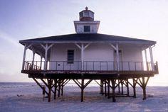Boca Grande Lighthouse at the Gasparilla Island State Park. | Florida Memory