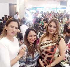 Creating New Stunning looks with Star Team at Bridal Competition Pragati Maidan expo,For Basic & Advance #Makeupcourses with International certification.