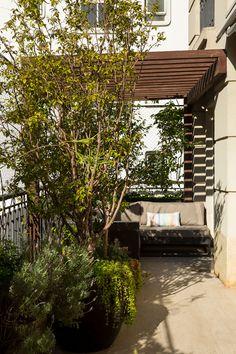 Decoração, decoração de apartamento, decoração para apartamento, Apartamento, Apartamento com jardim, Jardim, Plantas, decoração com plantas.