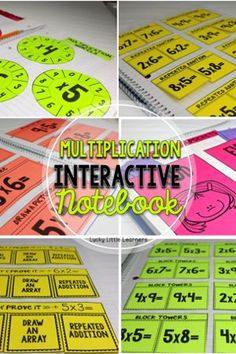 57 pages of multiplication strategies and practice.  Included in this…