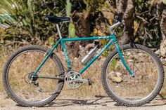 Cool as in color. As in how pristine this bike is. As in how rad is it that this Ritchey 1990 is still being ridden in Southern California? Cool as in look at all the Ritchey Logic parts, or thos.
