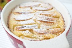 Semolina casserole with apple was always available from grandmother. A delicious, traditional Austrian recipe. Semolina casserole with apple was always available from grandmother. A delicious, traditional Austrian recipe. Apple Desserts, Italian Desserts, Italian Dishes, Apple Recipes, Easy Desserts, Italian Recipes, Delicious Desserts, Types Of Sandwiches, Austrian Recipes