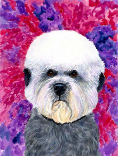 Dandie Dinmont Terrier 2-Sided Garden Flag