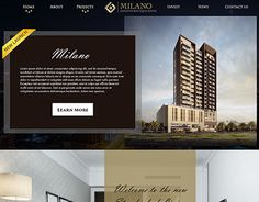 """Check out new work on my @Behance portfolio: """"Website & Landing Page Design for a Real Estate company"""" http://be.net/gallery/49449211/Website-Landing-Page-Design-for-a-Real-Estate-company"""