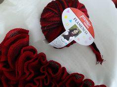 lace yarn scarf