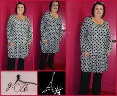 se porte comme une tunique ou en robe, nouveau créateur chez PARIS NEW-YORK : G!OZé