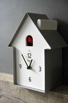 Meridiana Cuckoo Clock | Cuckoo Clock | Contemporary Wall Clocks