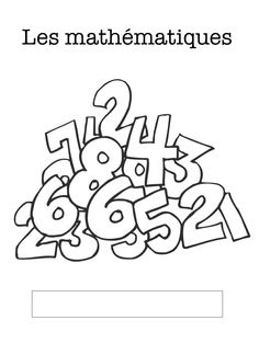 Collection of French Grade 1 math lessons, resources, games, ideas: Madame… Teaching Numbers, Math Numbers, Teaching Math, 1st Grade Math, Kindergarten Math, Grade 1, 100 Days Of School, School Stuff, Summer School