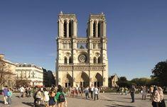 Paris Notre Dame is a Disney Cruise Line Port Adventure that features a scenic drive and walking tour. Bells Of Notre Dame, Famous Catholics, Notre Dame Disney, French Gothic Architecture, Tourist Places, Disney Cruise Line, Romanesque, France Travel, Paris France
