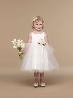 UA_101I_11 - Us Angels Flower Girl Dress- Style 101 - Us Angels - Flower Girl Dress For Less