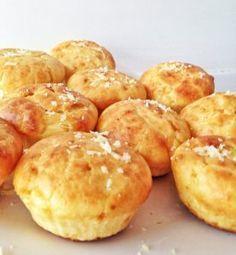 Receita de muffin salgado