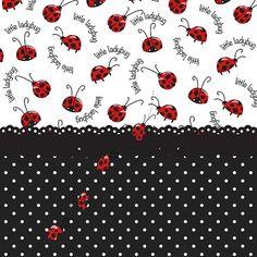 """String Of Ladybugs"" by Debra Miller."